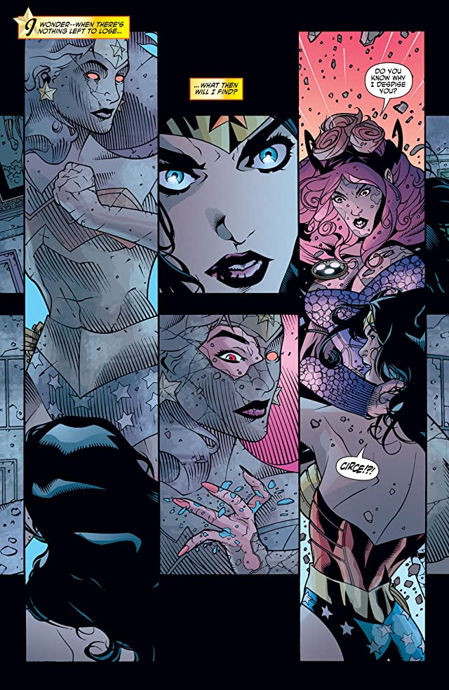 click for super-sized previews of Wonder Woman (2006-2011) #7