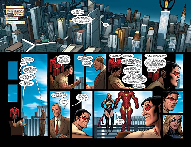 click for super-sized previews of Mighty Avengers (2007-2010) #2