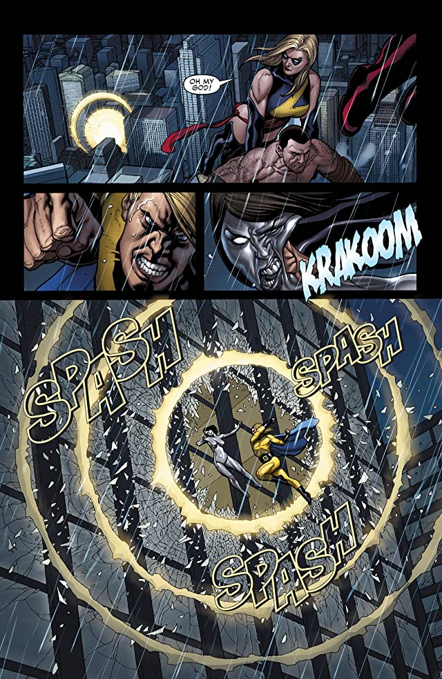 click for super-sized previews of Mighty Avengers (2007-2010) #3