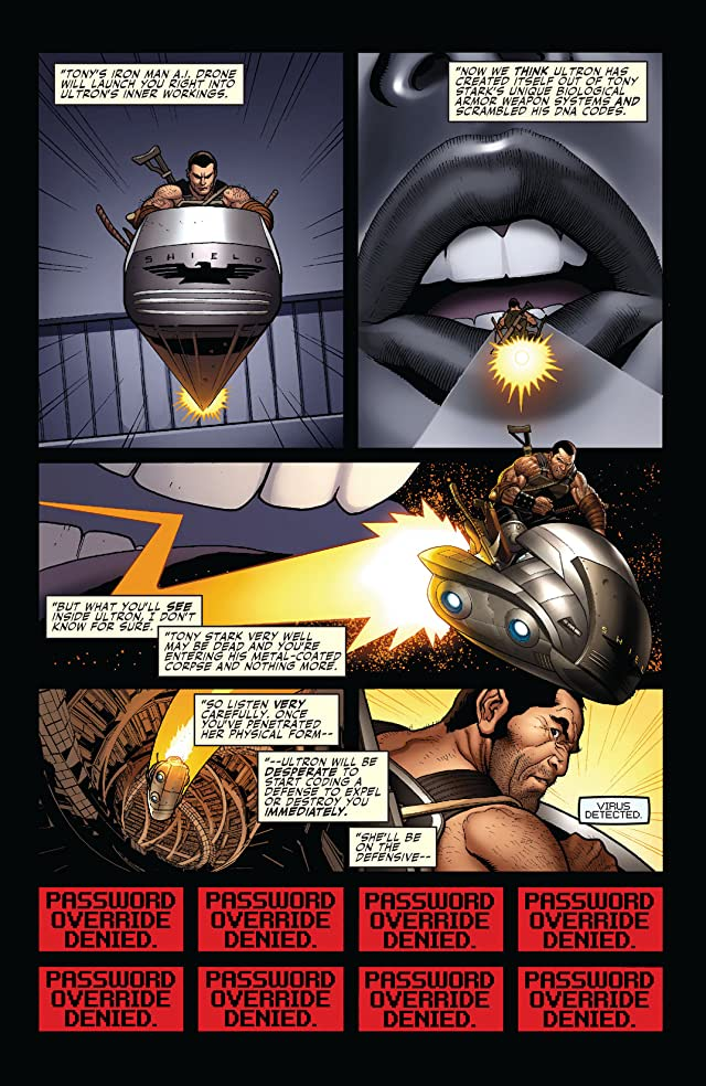 click for super-sized previews of Mighty Avengers (2007-2010) #6