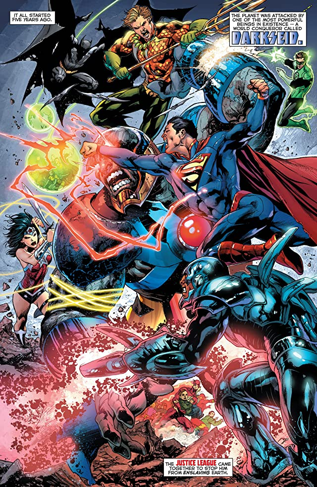 Justice League (2011-) #23