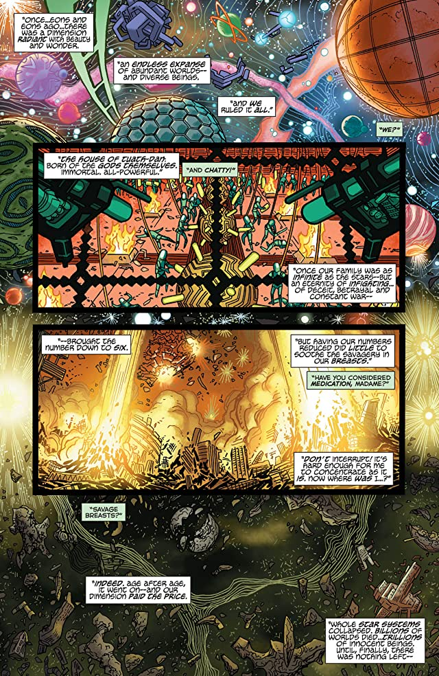 click for super-sized previews of Larfleeze (2013-2015) #3