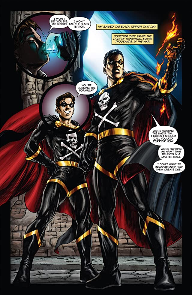 click for super-sized previews of Black Terror #3