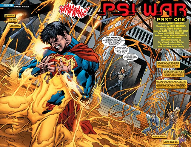 click for super-sized previews of Superman (2011-) #23