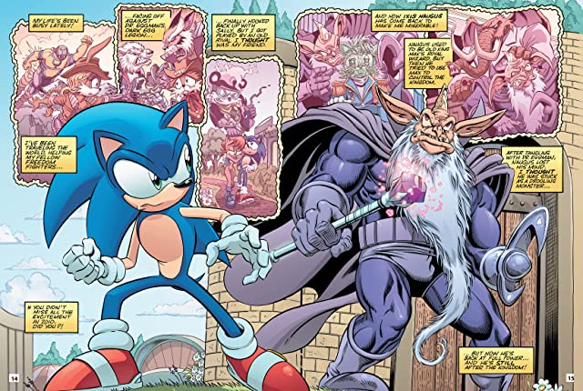 click for super-sized previews of Sonic Super Special Magazine #8