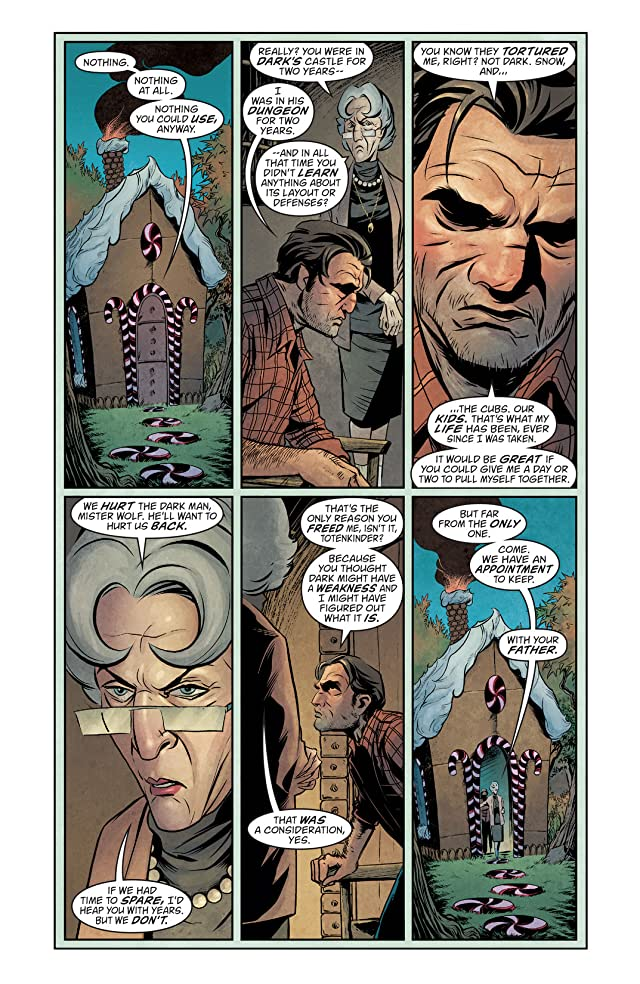 click for super-sized previews of The Unwritten #52