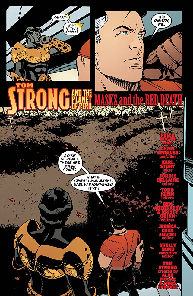 click for super-sized previews of Tom Strong and the Planet of Peril #2