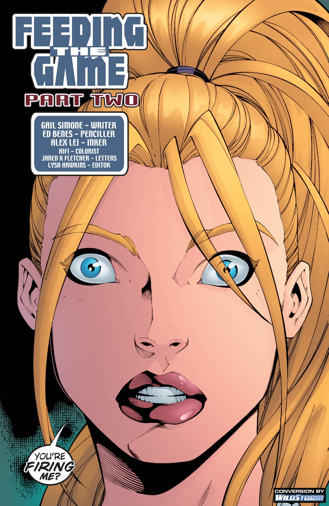 Birds of Prey (1999-2009) #61