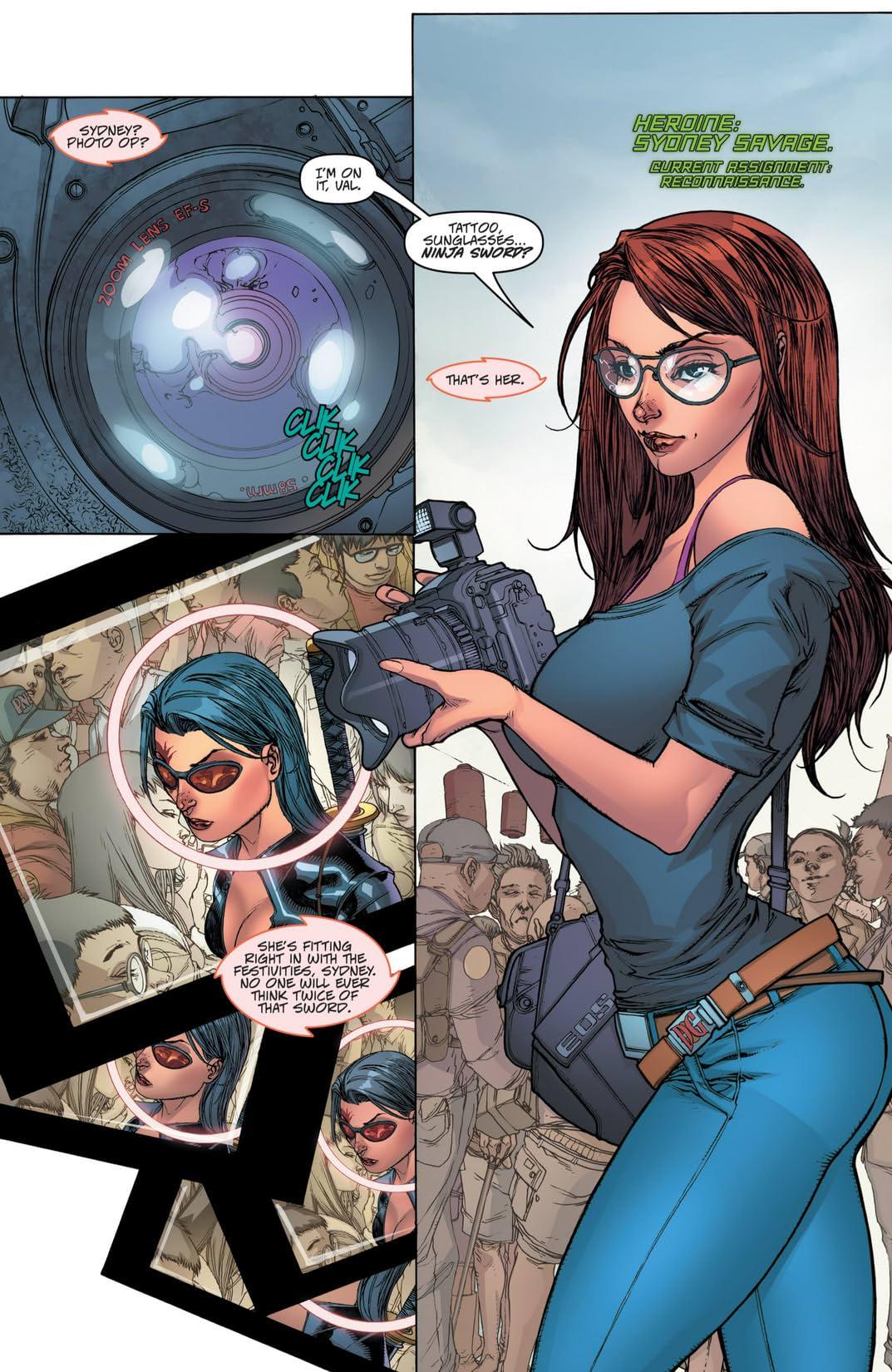 Danger Girl: The Chase! #1 (of 4)