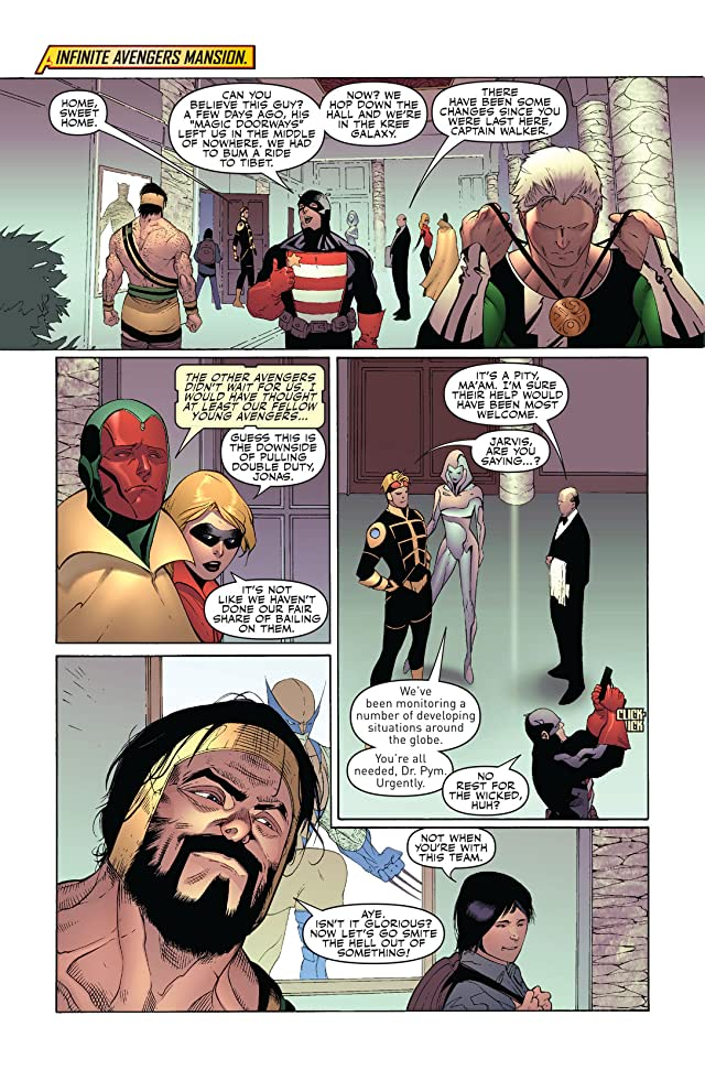 click for super-sized previews of Mighty Avengers (2007-2010) #32