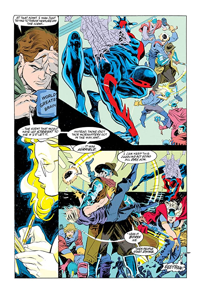 click for super-sized previews of Spider-Man 2099 (1992-1996) #3