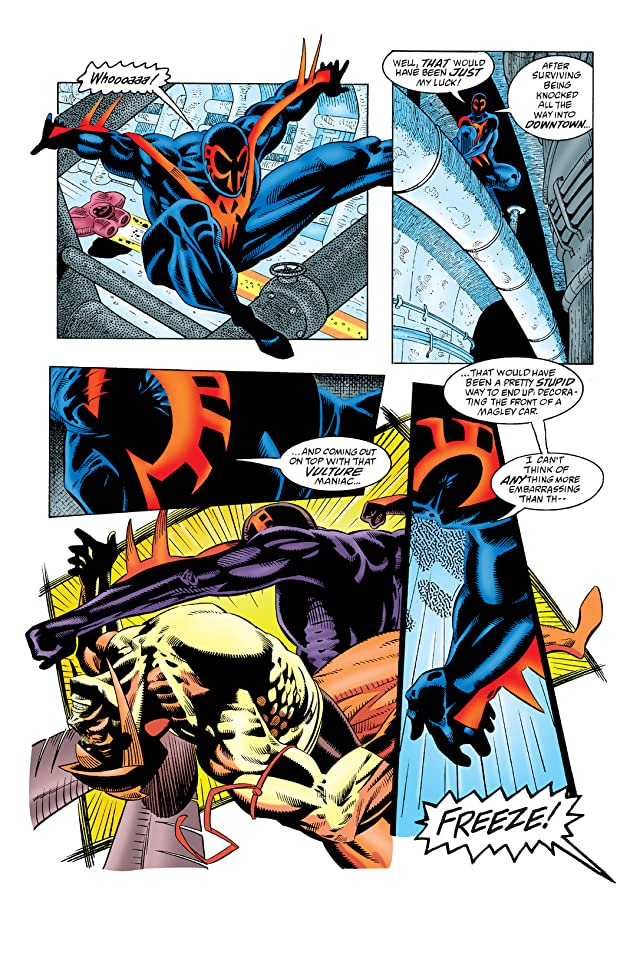 click for super-sized previews of Spider-Man 2099 (1992-1996) #9