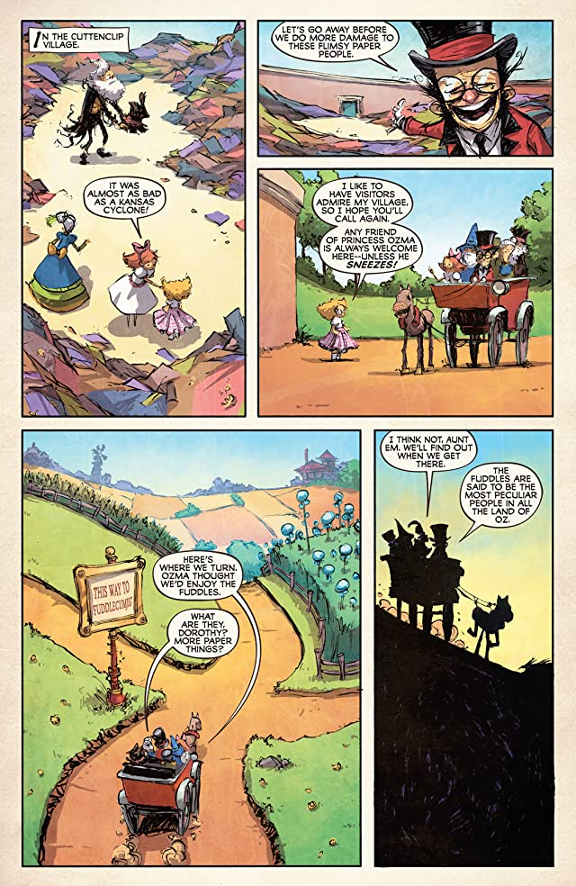 The Emerald City of Oz #3 (of 5)