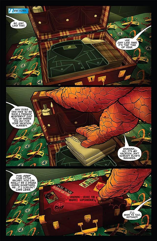 click for super-sized previews of Fantastic Four: Isla De La Muerte!