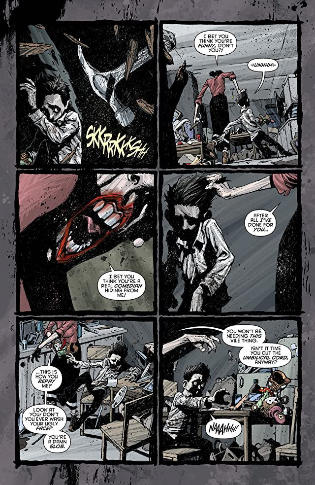click for super-sized previews of Batman (2011-) #23.1: Featuring Joker