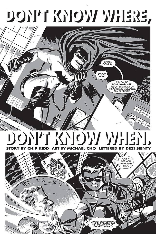 Batman Black & White (2013-2014) #1 (of 6)