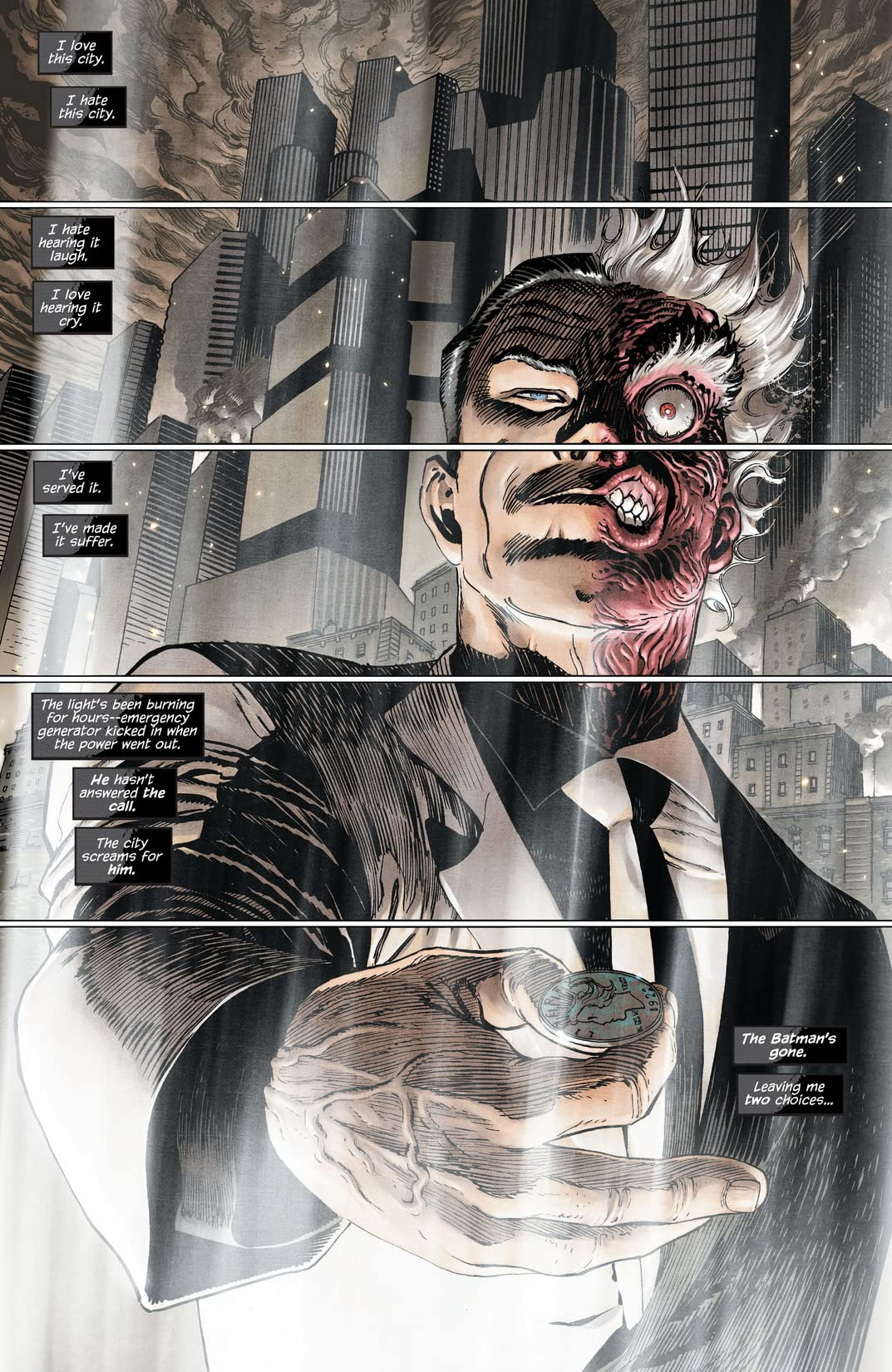 Batman and Robin (2011-2015) #23.1: Featuring Two-Face