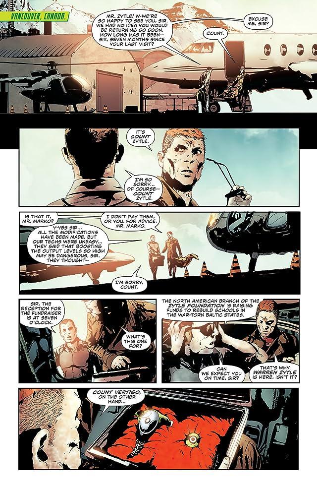 click for super-sized previews of Green Arrow (2011-) #23.1: Featuring Count Vertigo