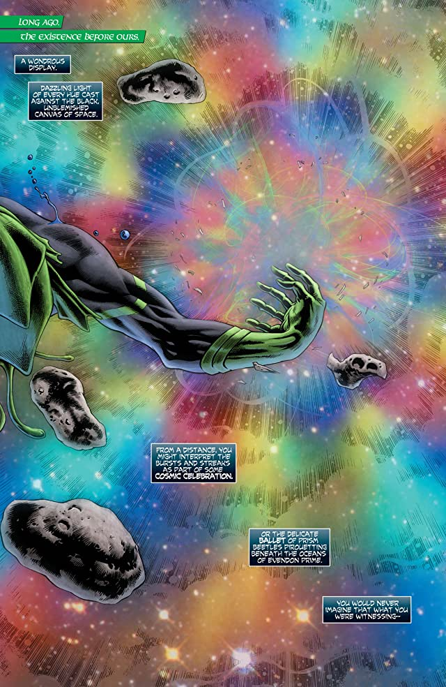 Green Lantern (2011-) #23.1: Featuring Relic