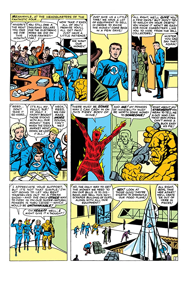 click for super-sized previews of Fantastic Four (1961-1998) #9