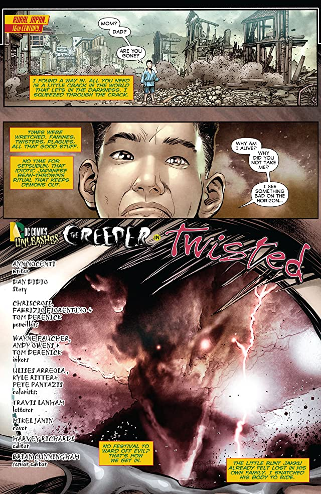 click for super-sized previews of Justice League Dark (2011-2015) #23.1: Featuring Creeper