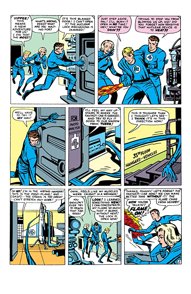 click for super-sized previews of Fantastic Four (1961-1998) #10