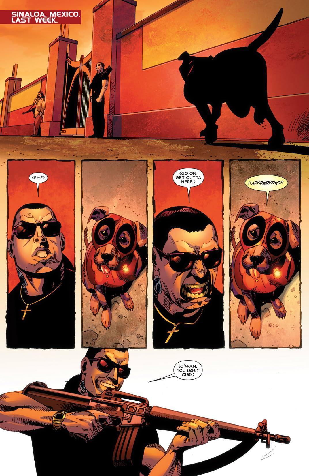 Deadpool: Wade Wilson's War #3 (of 4)