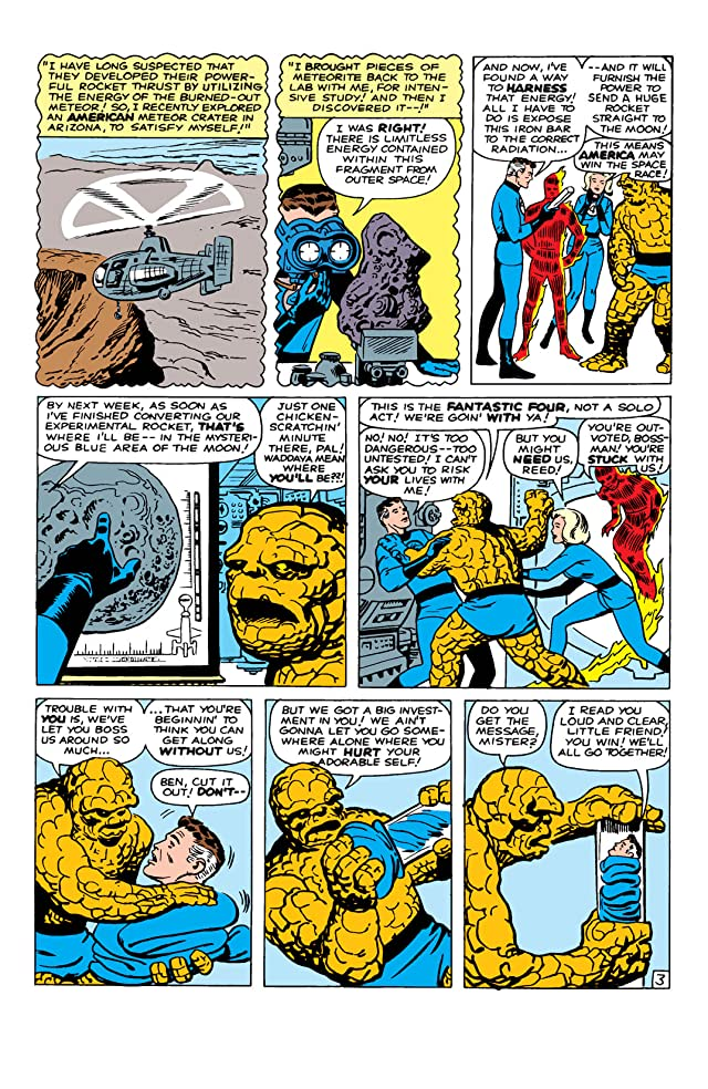 click for super-sized previews of Fantastic Four (1961-1998) #13