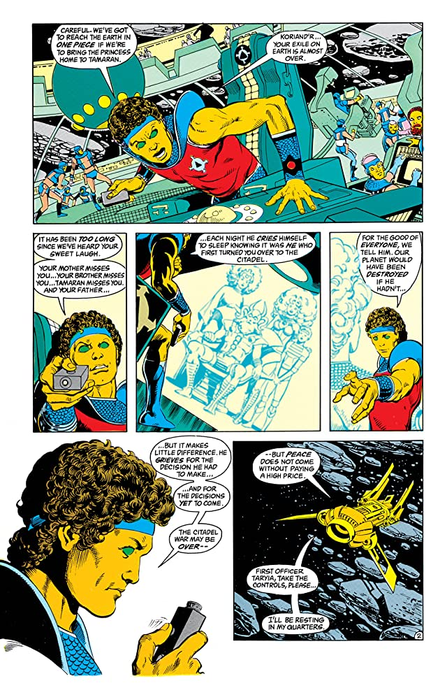 The New Teen Titans (1984-1996) #10