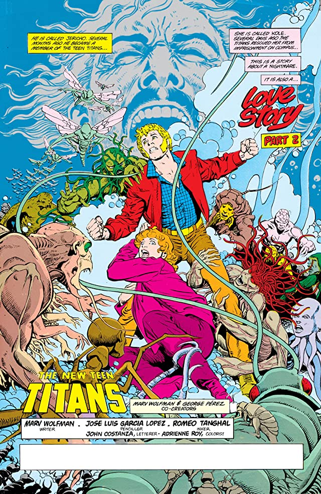 click for super-sized previews of The New Teen Titans (1984-1996) #11