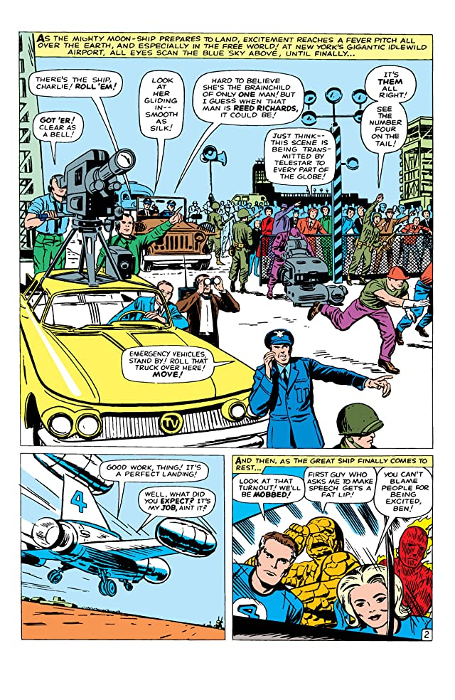 click for super-sized previews of Fantastic Four (1961-1998) #14