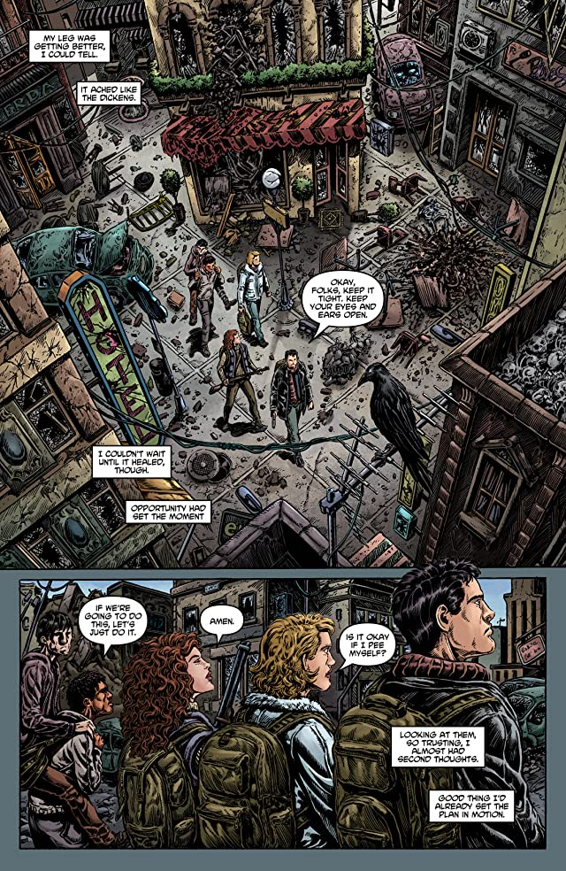 click for super-sized previews of Crossed: Psychopath #3