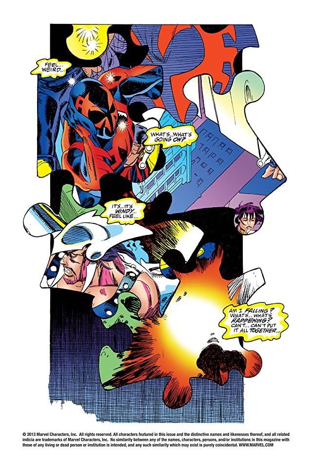 click for super-sized previews of Spider-Man 2099 (1992-1996) #7