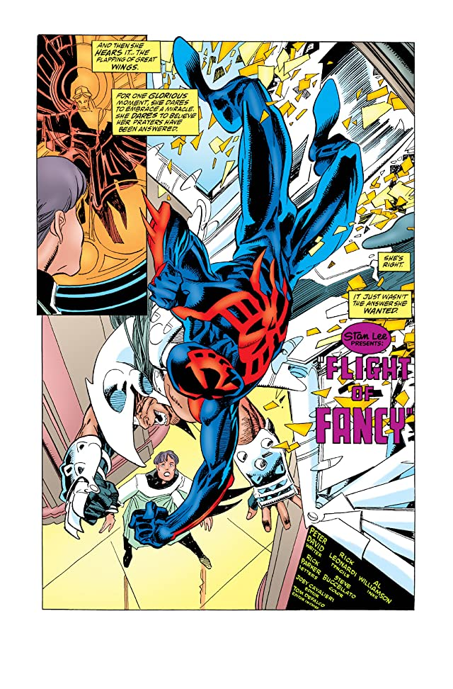 click for super-sized previews of Spider-Man 2099 (1992-1996) #8