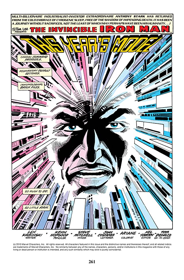 click for super-sized previews of Iron Man (1968-1996) #290