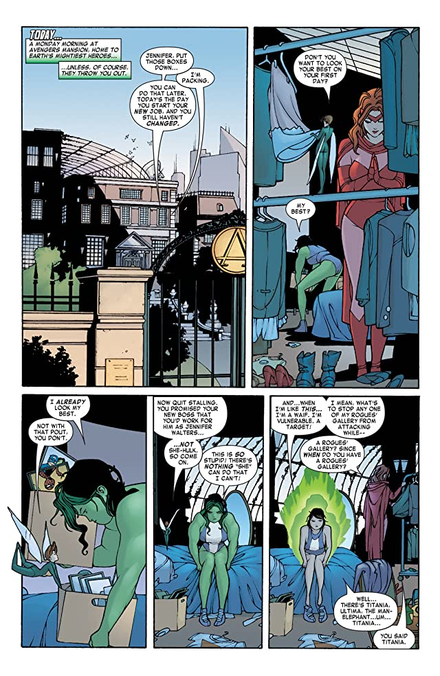 click for super-sized previews of She-Hulk (2004-2005) #2