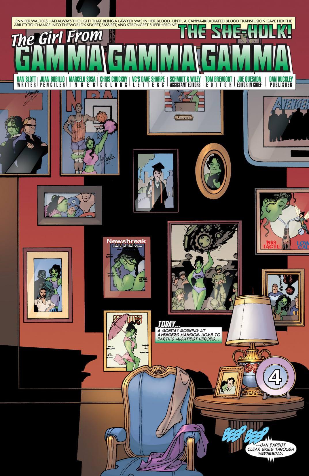 She-Hulk (2004-2005) #1