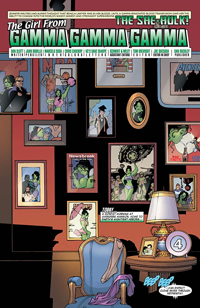 click for super-sized previews of She-Hulk (2004-2005) #1