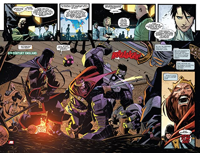 click for super-sized previews of Indestructible Hulk #13