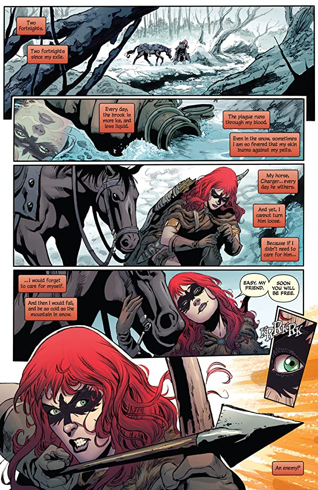 click for super-sized previews of Red Sonja #3: Digital Exclusive Edition