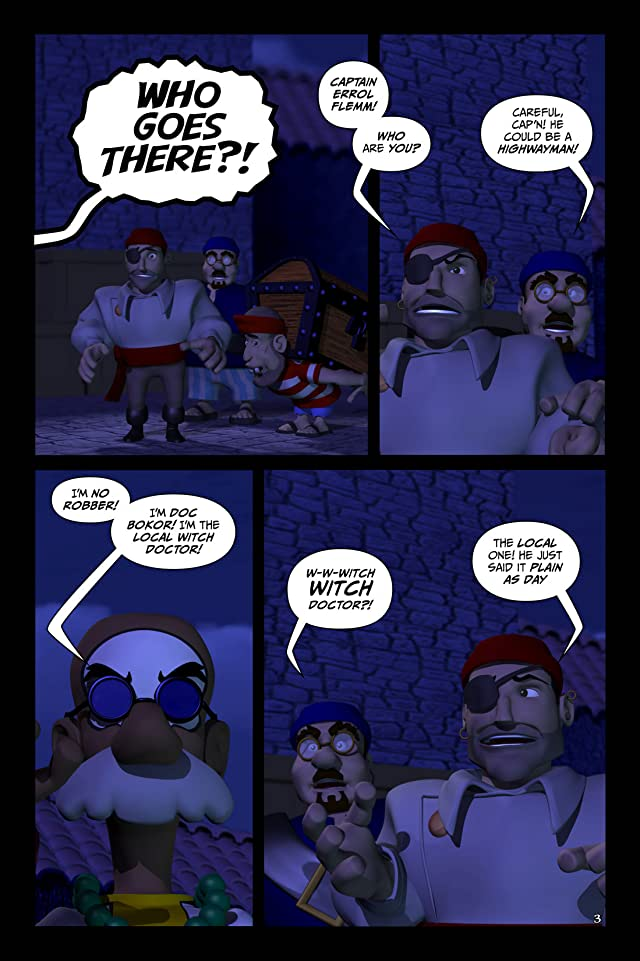 The Wannabe Pirates #1