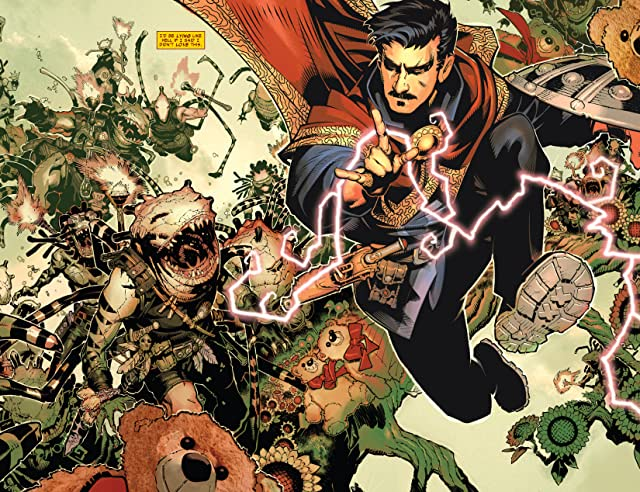 click for super-sized previews of Doctor Strange (2015-) #1