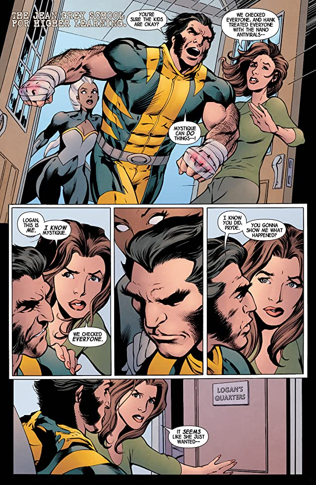 click for super-sized previews of Wolverine (2013-2014) #9