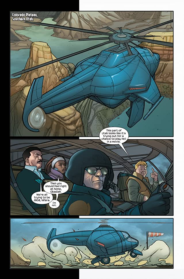 click for super-sized previews of Ultimate Iron Man II #5 (of 5)