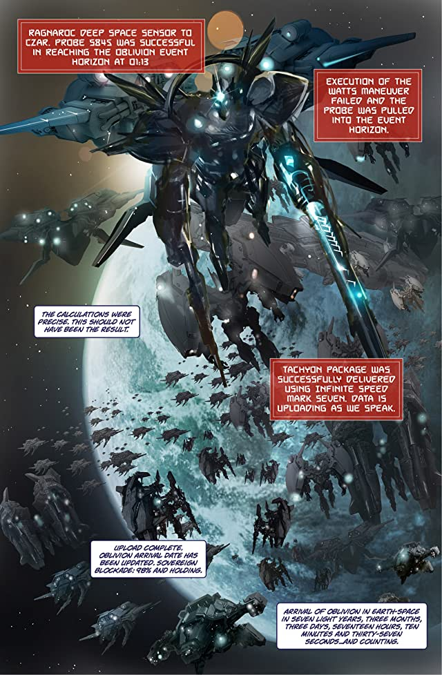 click for super-sized previews of Ragnaroc Inc: Embrace Oblivion #1