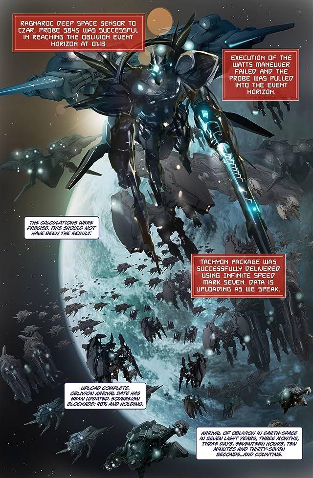 click for super-sized previews of Ragnaroc Inc: Embrace Oblivion #1
