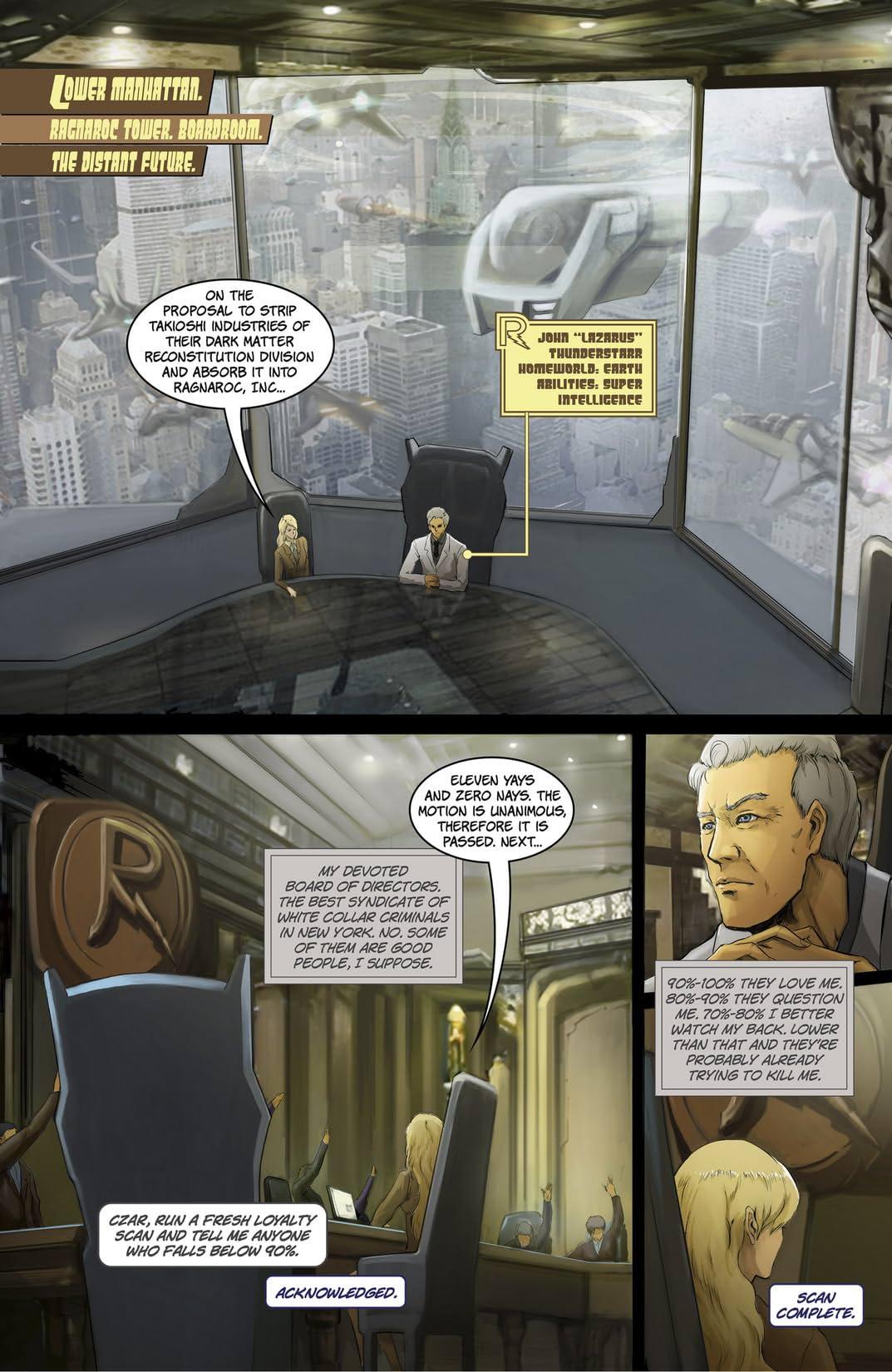 Ragnaroc Inc: Embrace Oblivion #1