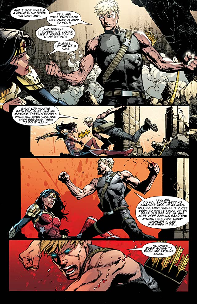 click for super-sized previews of Wonder Woman (2011-) #45
