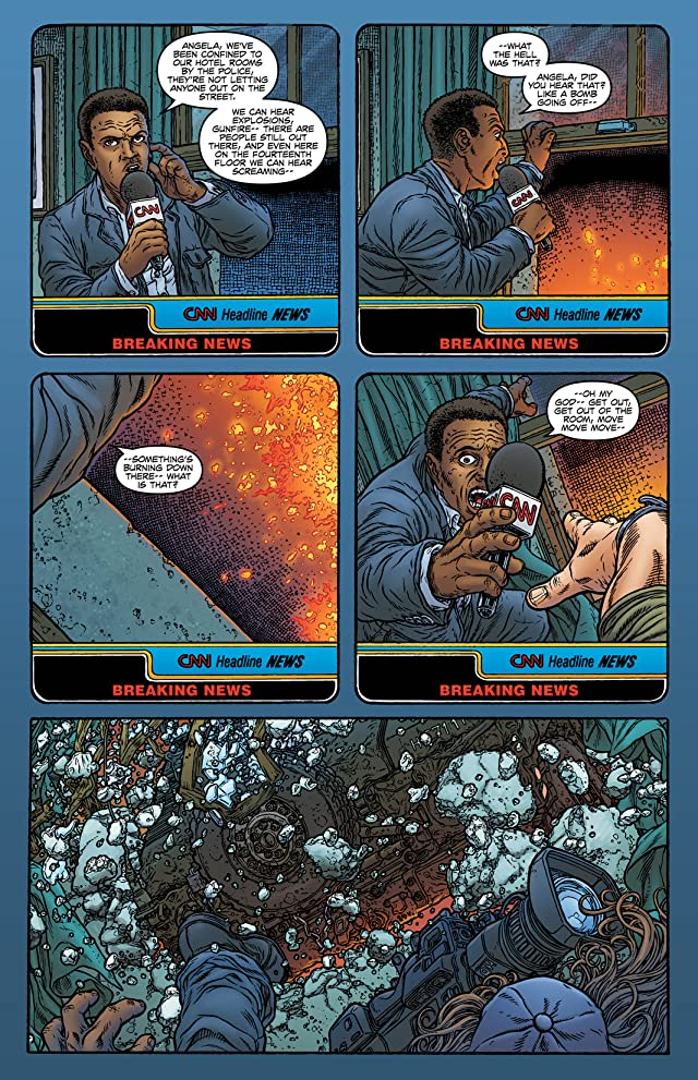 click for super-sized previews of Black Summer #4