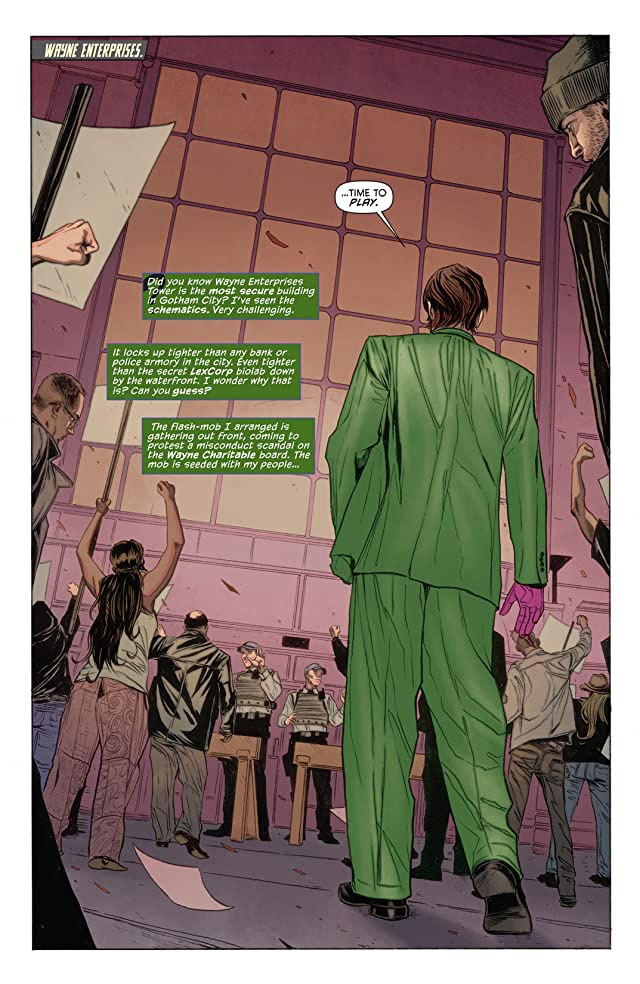 click for super-sized previews of Batman (2011-) #23.2: Featuring Riddler